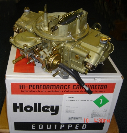 HOLLEY Performance Carburetor,Chevrolet,Camaro,Chevelle